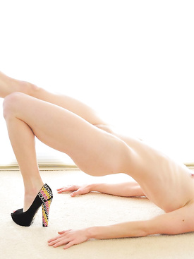 Nudes in High-Heeled Slippers